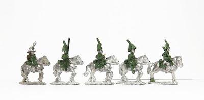 Carabiniers (Dutch style) x 5: