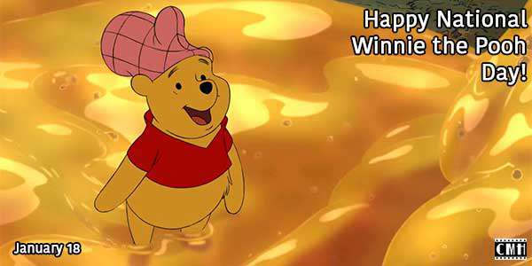 National Winnie the Pooh Day Wishes pics free download