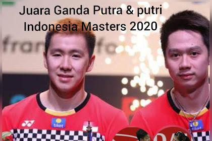 Membuktian diri untuk Ganda Putri kita, Di Indonesia Masters 2020