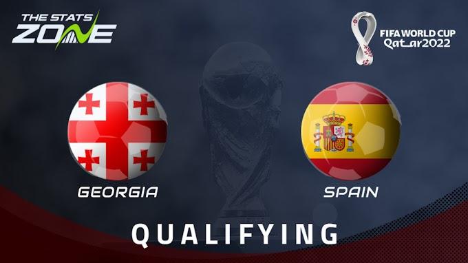 مشاهدة مباراة جورجيا و اسبانيا بث مباشر