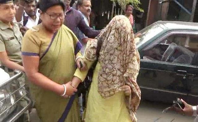 भाजपा की नेता जूही चौधरी गिरफ्तार, बच्चों की तस्करी का आरोप