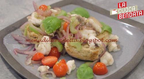 La Cuoca Bendata - Frisella con catalana ricetta Parodi