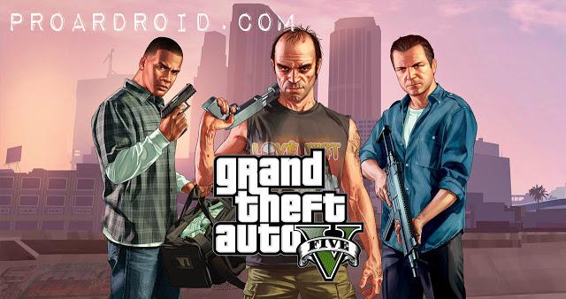 تحميل لعبة Grand Theft Auto 5 للاندرويد