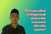 GP. Ansor Lombok Tengah Nilai Pembakar Bendera Partai Adalah Perilaku Bar-bar