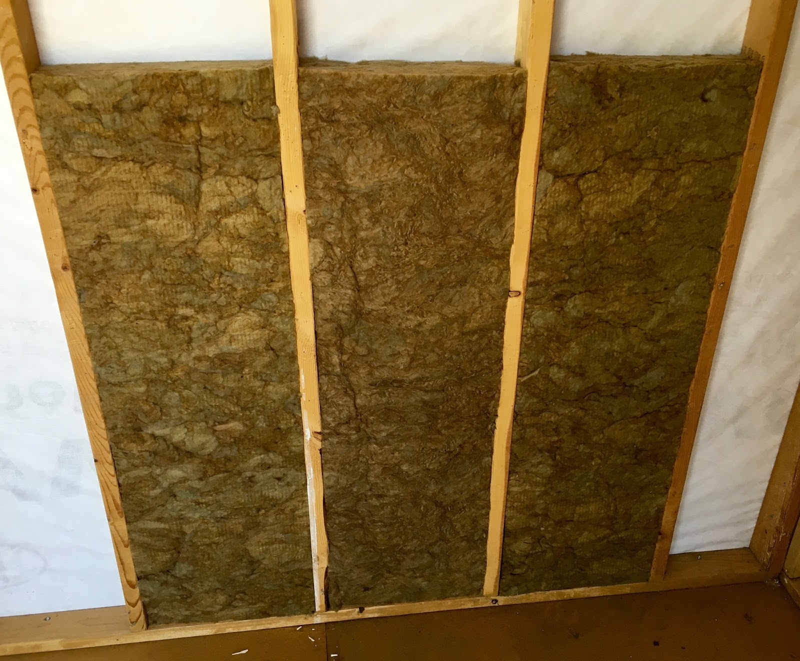 Syonyk 39 s project blog solar shed summary my off grid office for Wool insulation