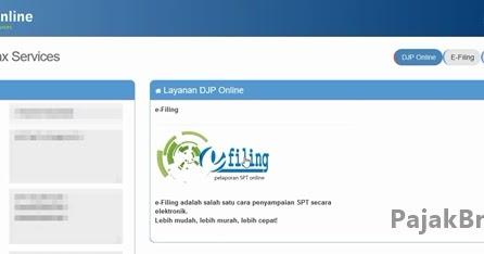 Cara Mengisi Spt Tahunan Secara Online Untuk Wajib Pajak Pribadi Di Djp Online Akses Di Pajak Go Id Tribunnews Com Mobile