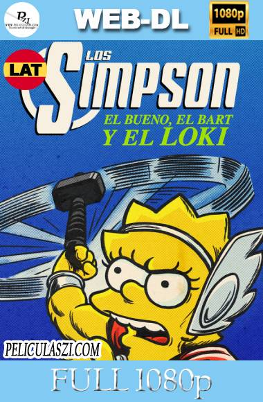Los Simpsons-El bueno El Bart y el Loki (2021) Full HD WEB-DL 1080p Dual-Latino VIP