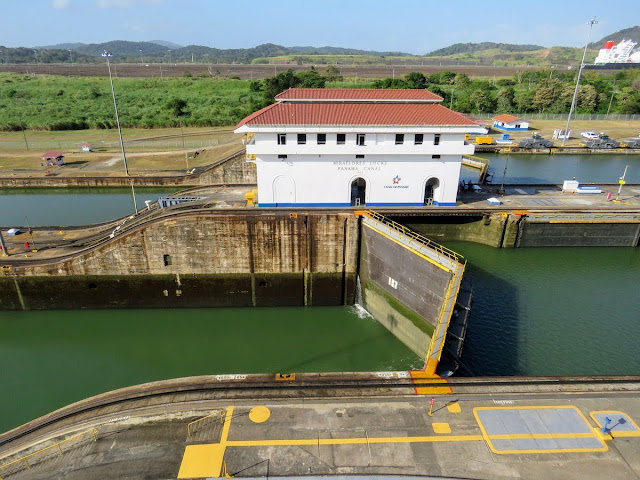Panama City Layover: Closed Miraflores Locks at the Panama Canal
