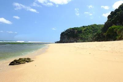 Lokasi Pantai Sanglen Gunungkidul