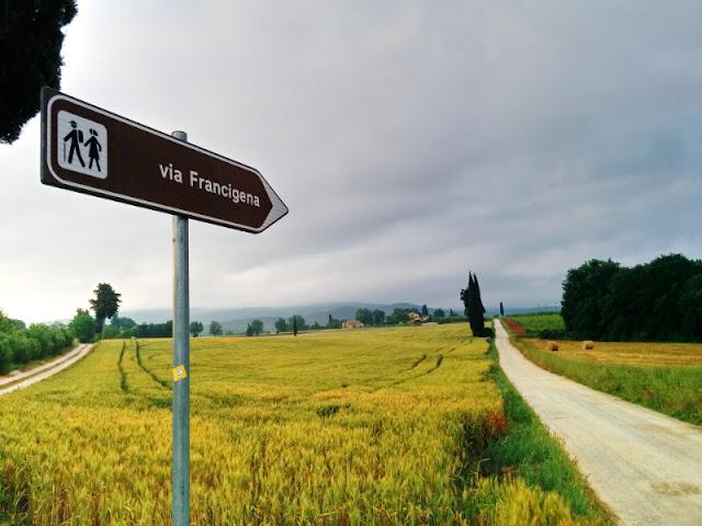 La via Francigena in Italia