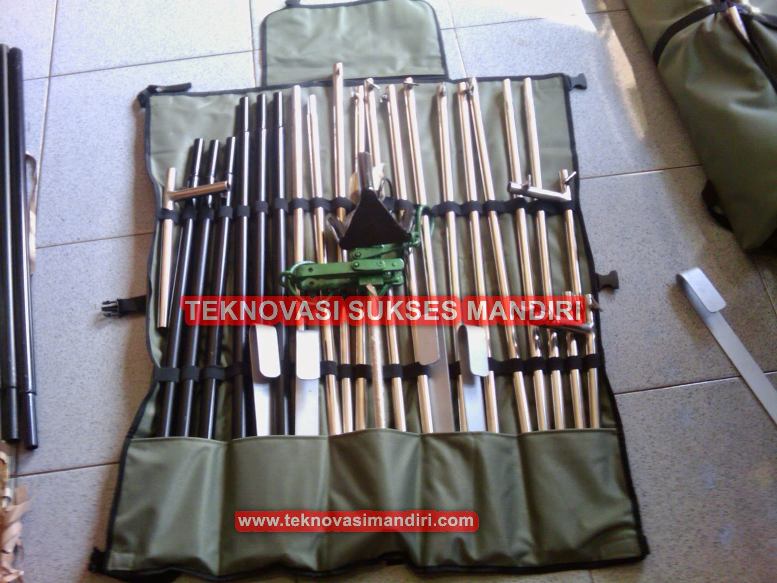 Alat Ubinan Padi Model Standar dengan tas