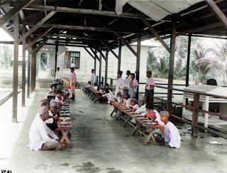 acara makan bersama di rumah sakit batang toru tempo dulu
