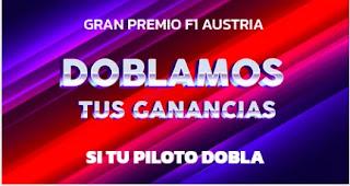 Mondobets promo F1 Austria 4-7-2021