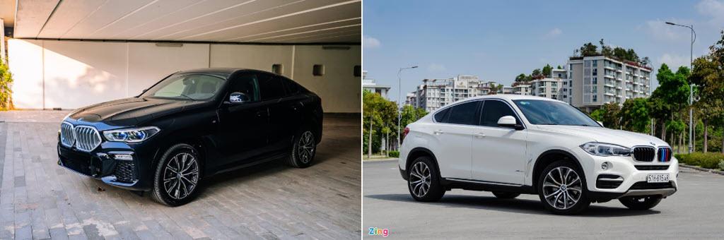 Những khác biệt giữa BMW X6 2020 và thế hệ cũ