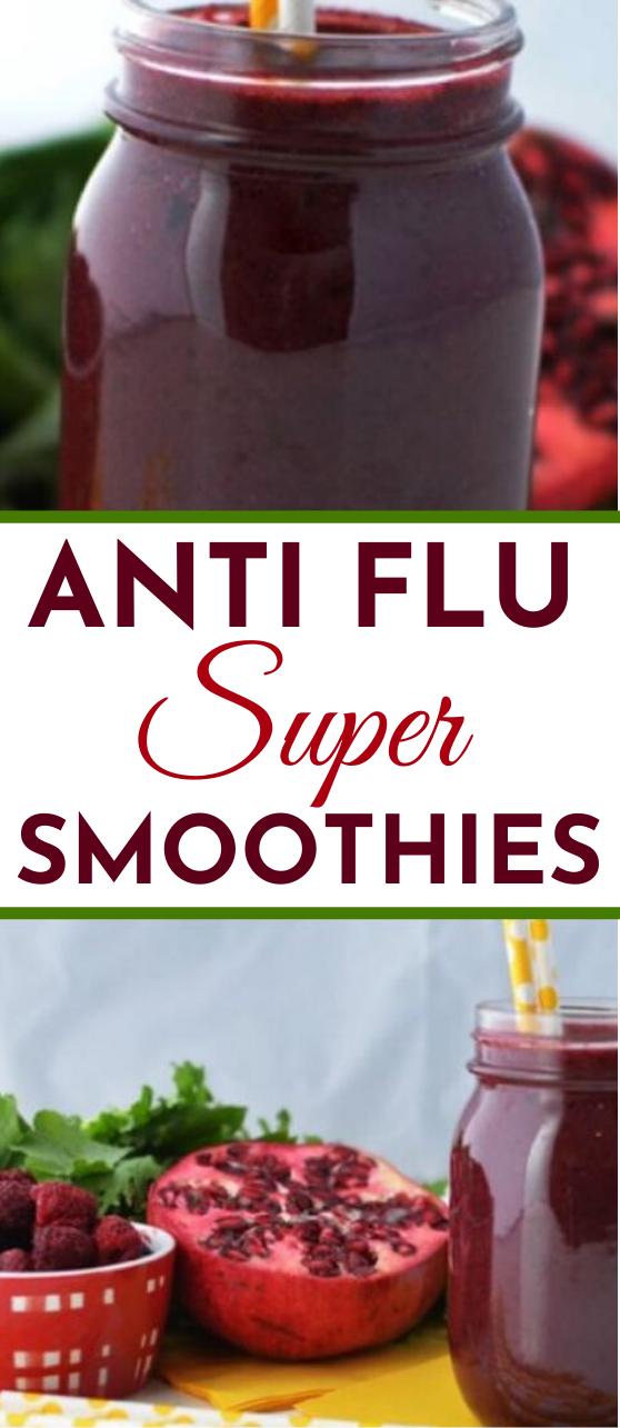 Anti-Flu Super Smoothie for Kids #drinks #smoothies #healthy #breakfast #juice