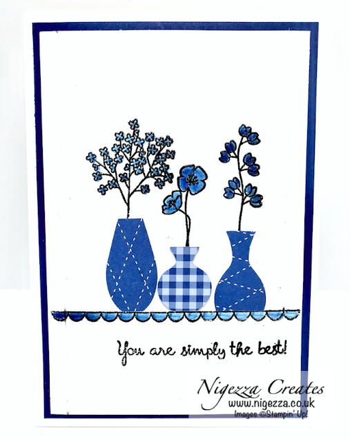 Nigezza Creates with Stampin' Up! Varied Vases Card #3