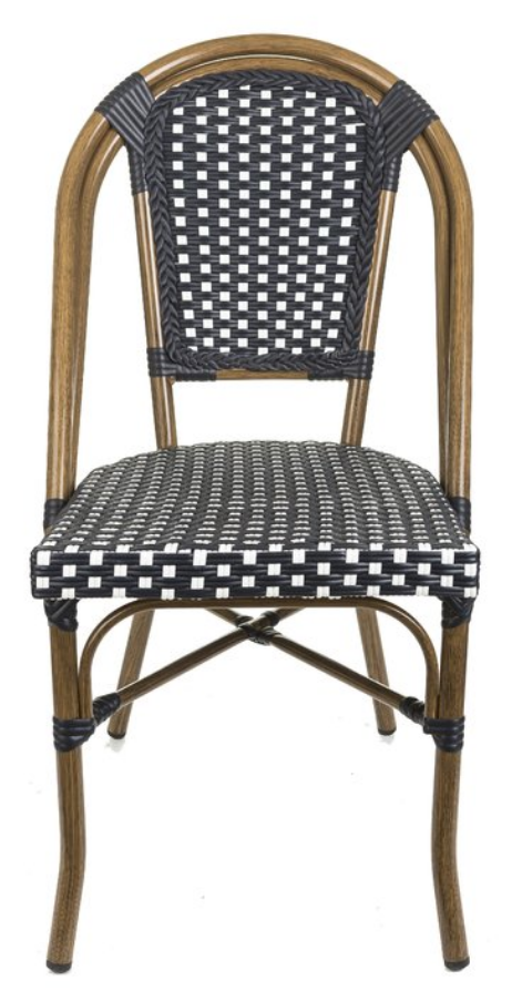 Affordable bistro chair options perfect for a cool, casual dining room.