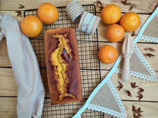Bizcocho de naranja y aceite de oliva. Receta ideal para desayunos y meriendas DOP AOVE Receta tradicional, de toda la vida Cuca