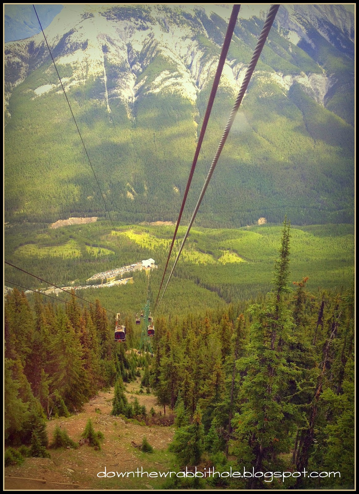 going up the Banff gondola, things to do in Alberta, Rocky Mountains Alberta