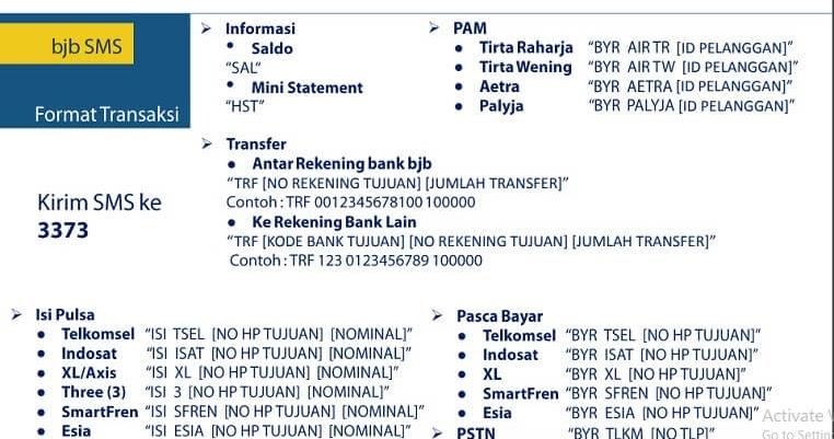 Cara Transfer Sms Banking Bni Ke Bjb - Cara Bangking