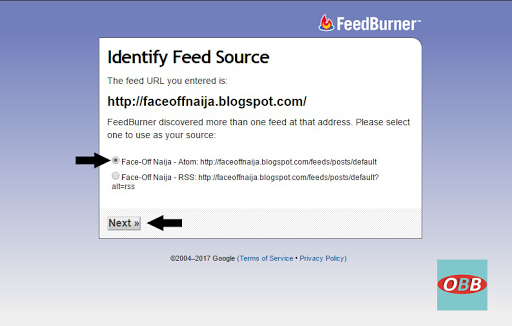 identify feed source