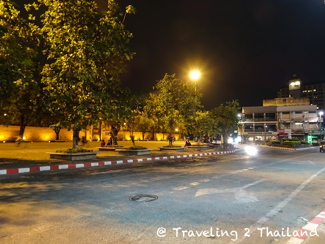 Thapae square in Chiang Mai, North Thailand