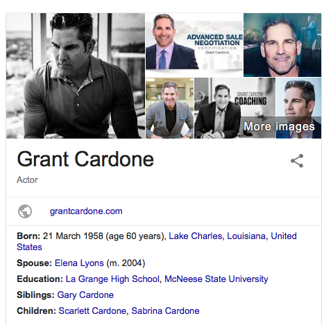 Instascams Grant Cardone Scammed