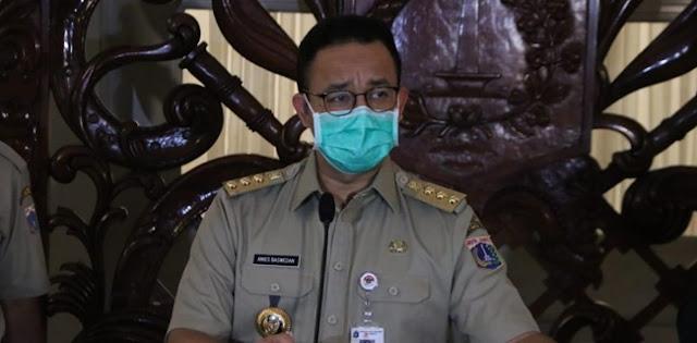 Lagi, Anies Baswedan Perpanjang PSBB Transisi Sampai 22 November