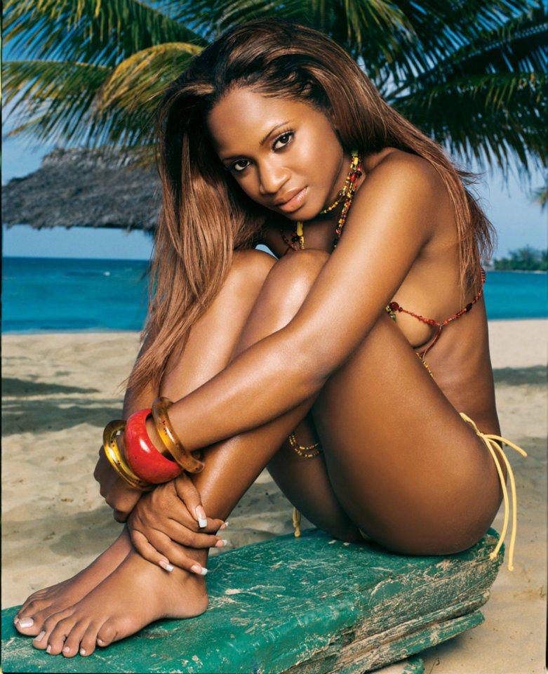Beautiful Naked Jamaican Women