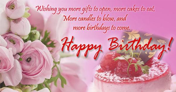 Happy Birthday - Tartas para felicitar el Cumpleaños en Inglés