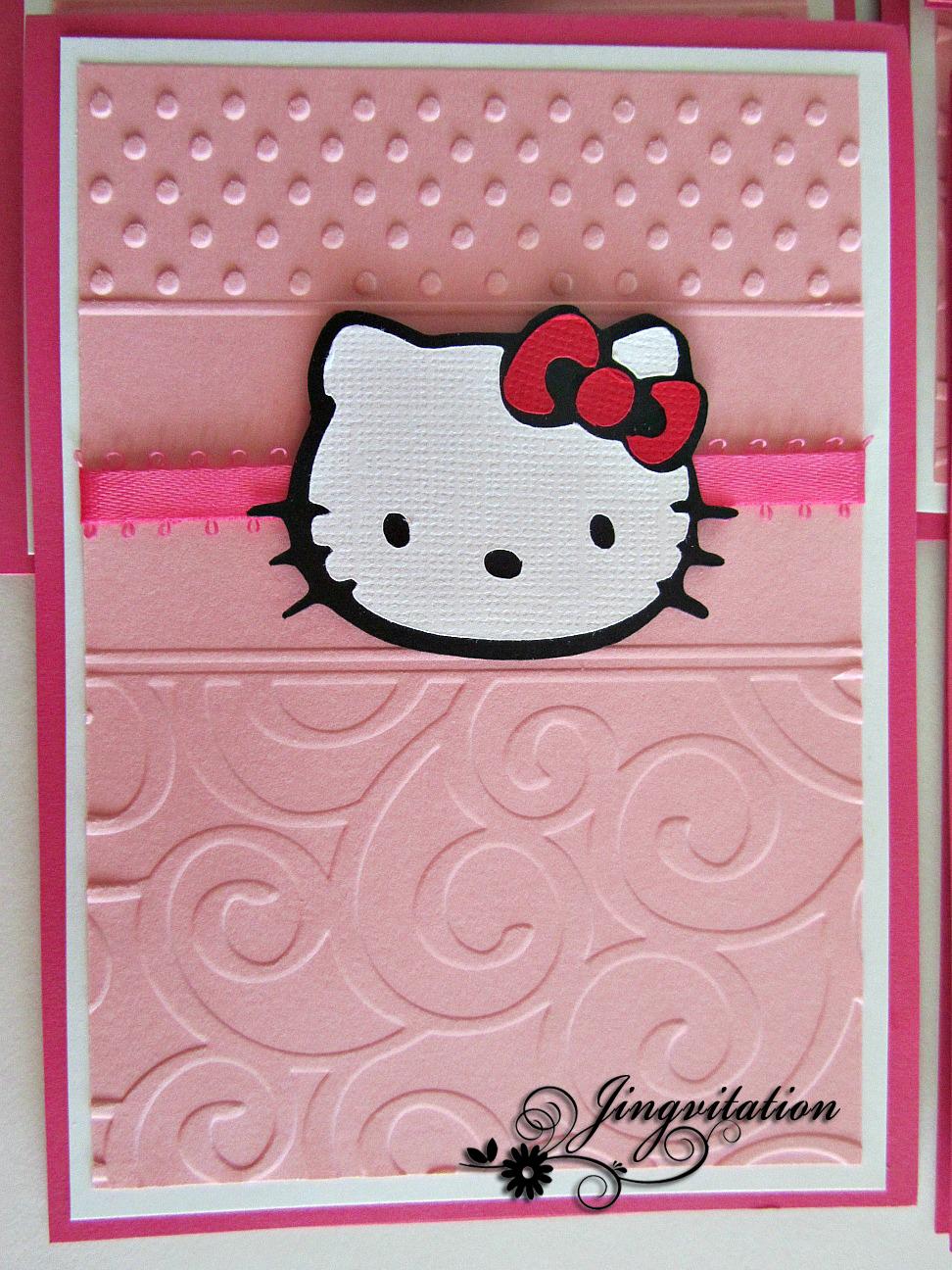 Contoh Undangan Pernikahan Surat Undangan Pernikahan Hello Kitty