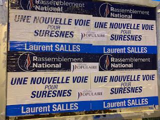 Laurent Salles Groupe Suresnes Bleu Marine