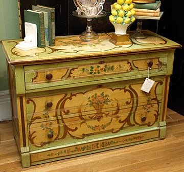 A More Traditional Painted Dresser With An Air Of French Country Style About It