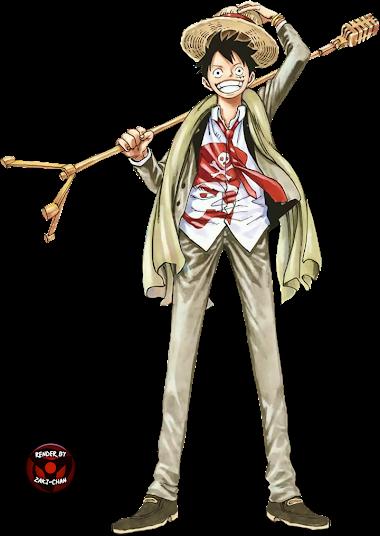 Monkey D. Luffy Render (Jump Festa)