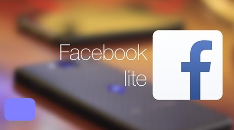 Latest facebook lite application