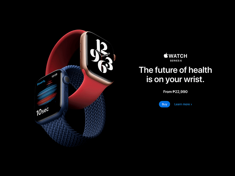 Apple Watch Series 6 and Watch SE now available in the Philippines!
