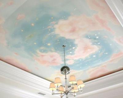plafon GRC bernuansa keindahan langit
