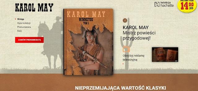 """Kolekcja """"Karol May"""" od dzisiaj w kioskach!"""