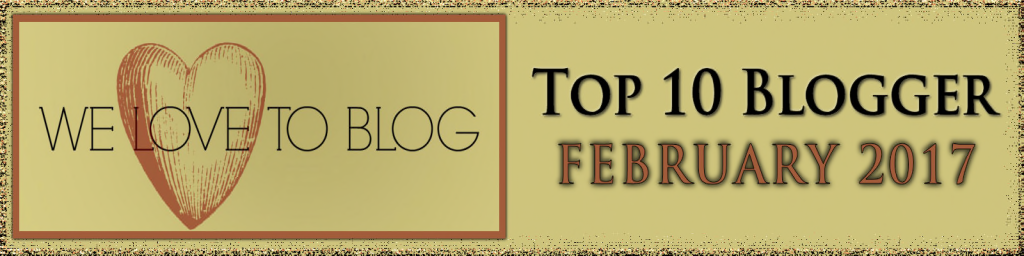 Top Blogger Feb 2017