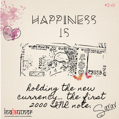 Happiness is holding the new currency!