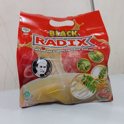 Kopi Black radix HPA membantu menyegarkan badan