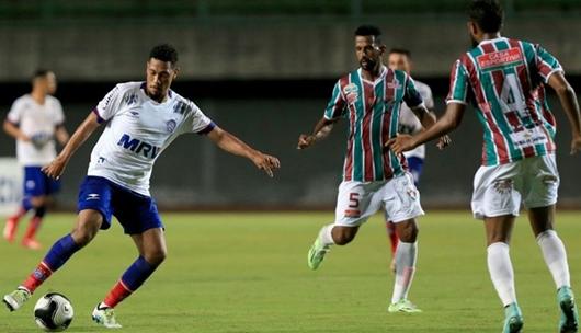 Bahia vence o Flu de Feira e larga na frente nas semifinais