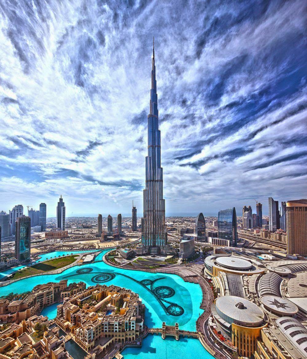 Attractive Destinations in Dubai-BurjKhalifa