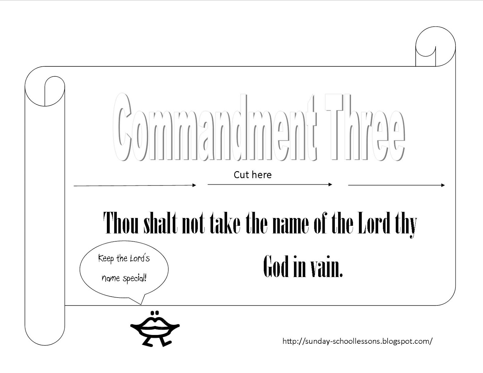 10 Commandments Sunday School Games ~ Sunday School ...