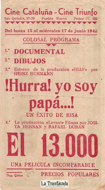 Programa de Cine - El 13000 - Josita Hernán - Rafael Durán