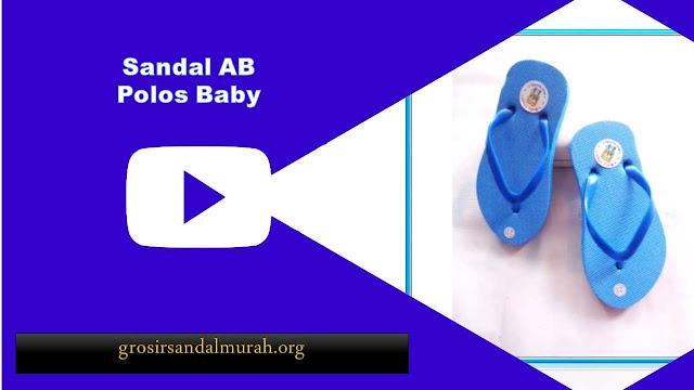 grosirsandalmurah.org - Sandal Baby - Ab Polos Baby