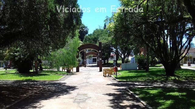 Praça da Matriz, Taquari, RS