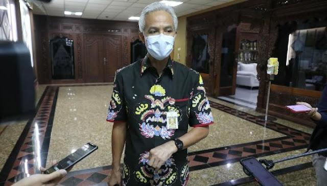 Corona di Jateng Naik Terus, Ganjar: Gubernurnya Nggak Pinter