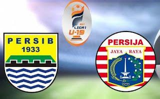 Final Liga 1 U-19 Persib Bandung vs Persija Jakarta Ditunda