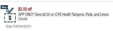 cvs health liners crt